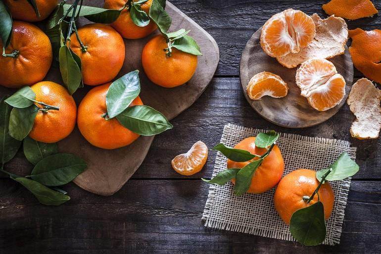 Польза мандарин для организма