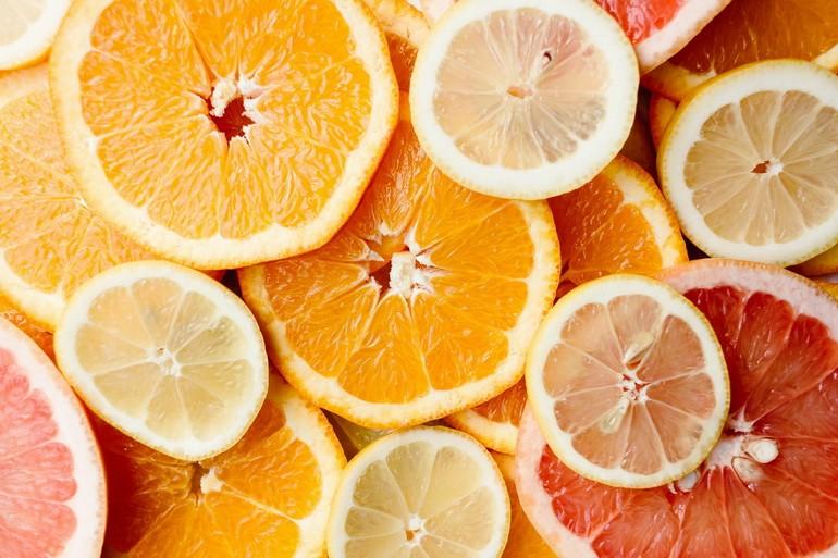 Грейпфрут и лимон