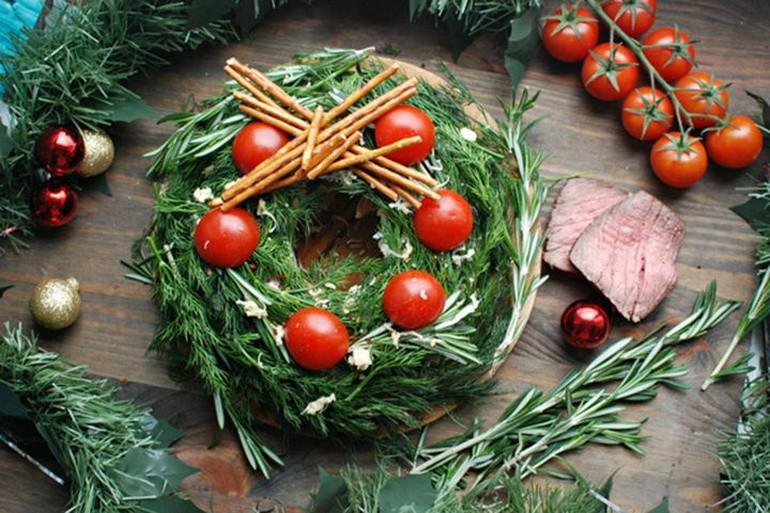 салаты для новогоднего стола