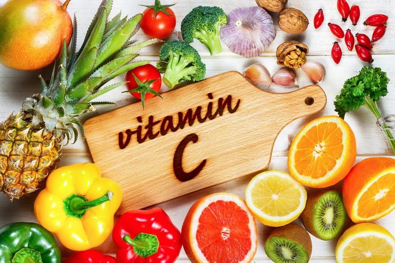 Продукты с витамином С.
